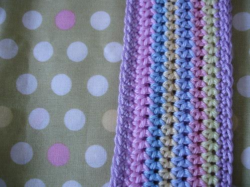 summer crochet cotton bag WIP 005