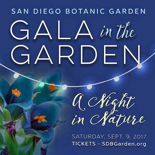 You Are Invited: Gala In The Garden 2017