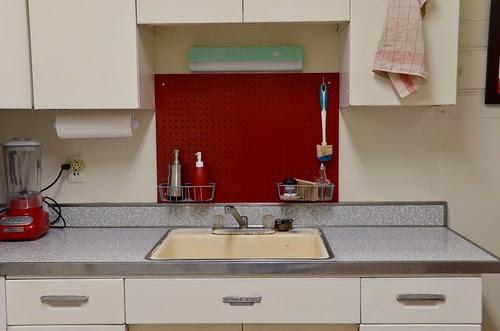 Pegboard Backsplash (Sink)