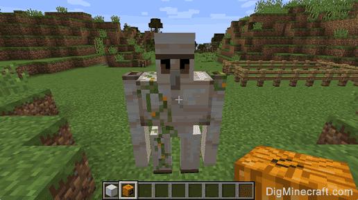 Minecraft Iron Golem Creative Mode - Gambleh c