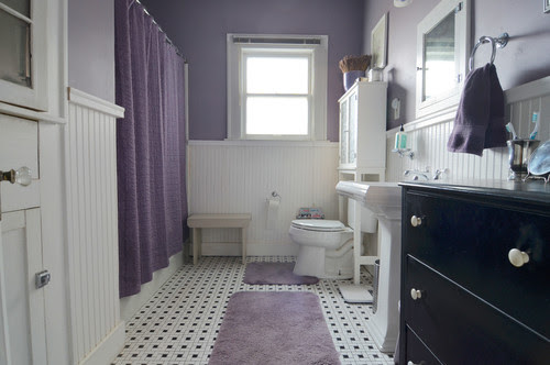 Color Series: Black & White Bathrooms | All Things Bathroom