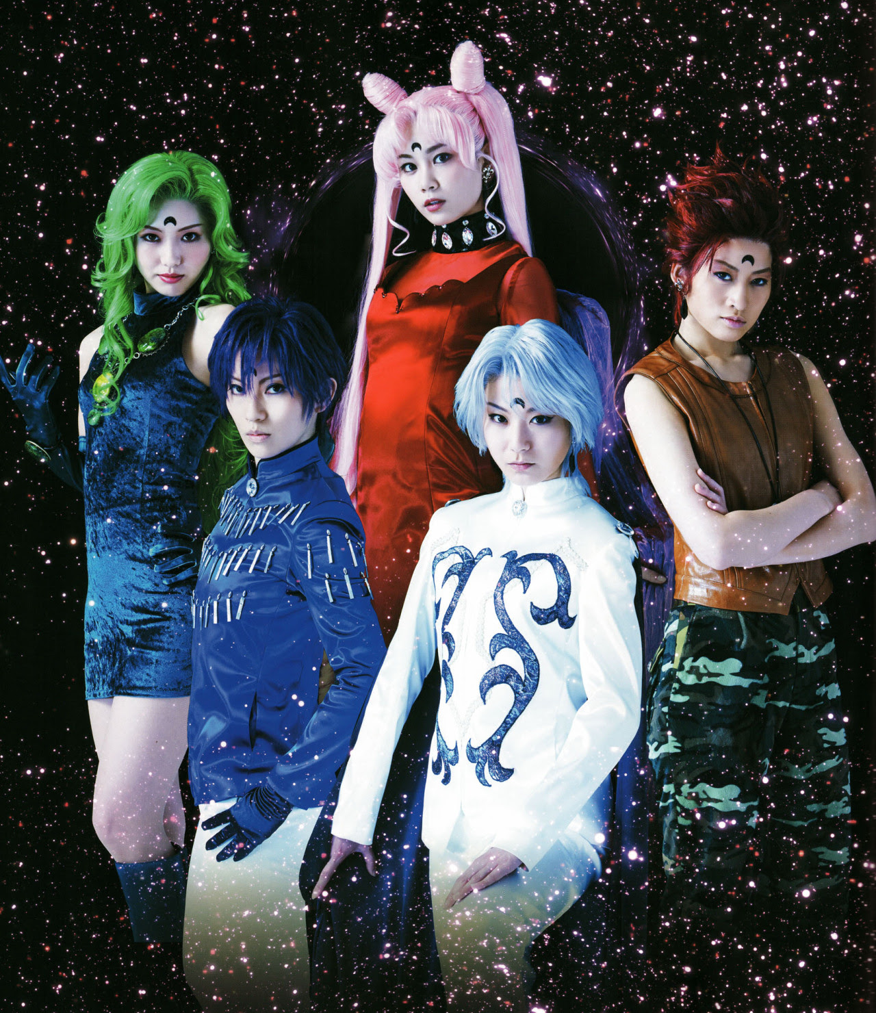 Cosplay Musical Sailor Moon Black Moon Bishoujo Senshi Sailor Moon