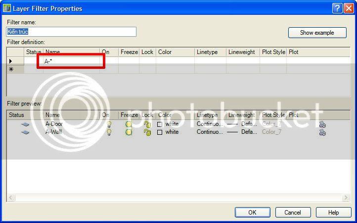 LayerfilterProperties1 Sử dụng Layer filter trong AutoCad một cách hiệu quả
