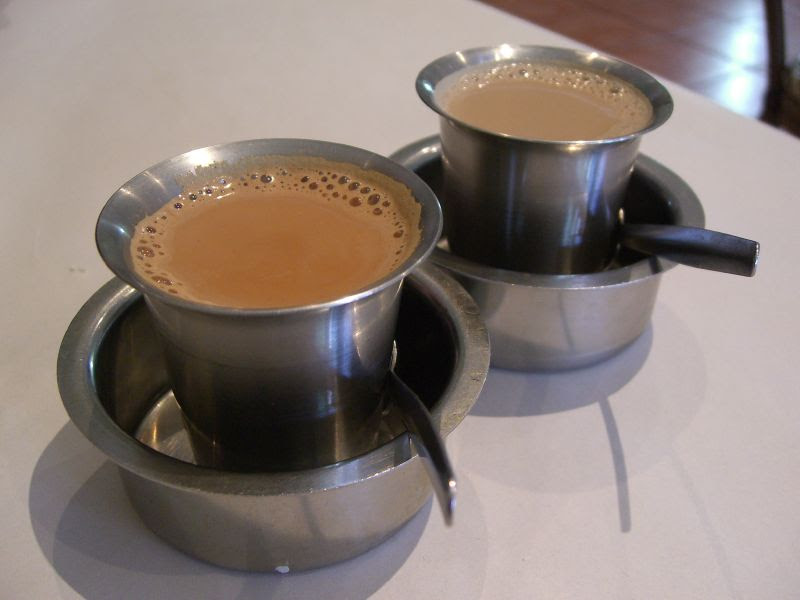 Masala Tea and South Indian Filter Coffee