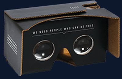 U.S. Air Force Free Cardboard VR Headset – US