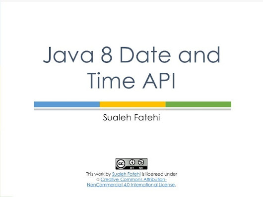 Java 8 Date and Time API