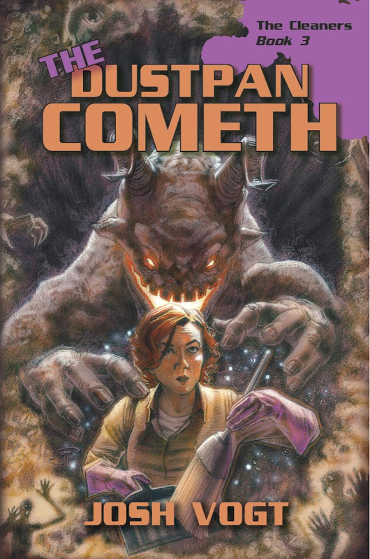 The Dustpan Cometh is a June cover competition contender! - Josh Vogt - Fantasy Author & Freelancer