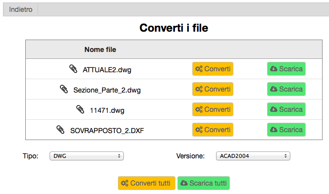 It Converter Conversione Dwg Dxf Online