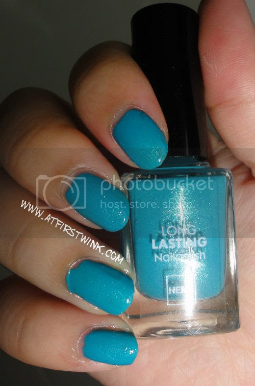 HEMA nail polish #839 Blue Green