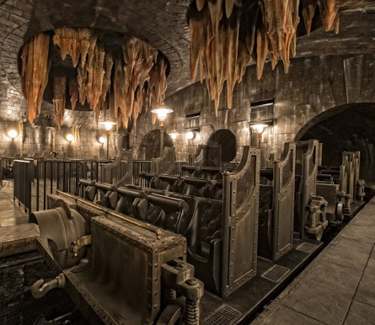 New Ride Images Harry Potter and the Escape from Gringotts