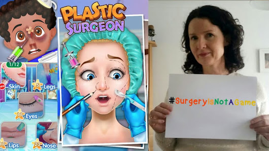 Cosmetic Surgery Games for Kids? No Thanks - Office Mum