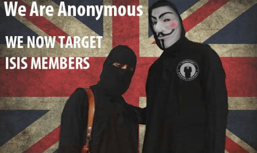 "Anonymous ""Hacktivists"" Strike a Blow Against ISIS"