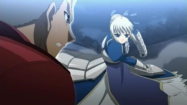Saber versus Archer