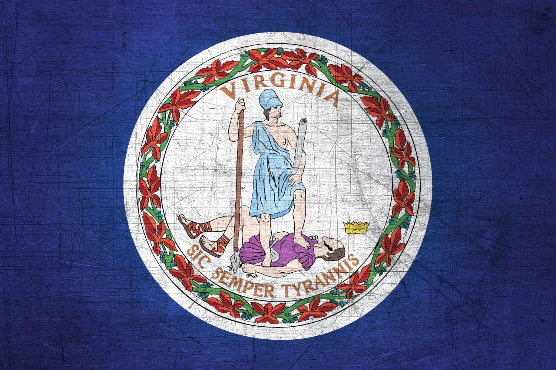 Virginian Flag Metal (Flag of Virginia) - Download it for free