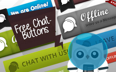 Live Support Chat Buttons - JAKWEB Live Support Chat, HelpDesk and Cloud Chat