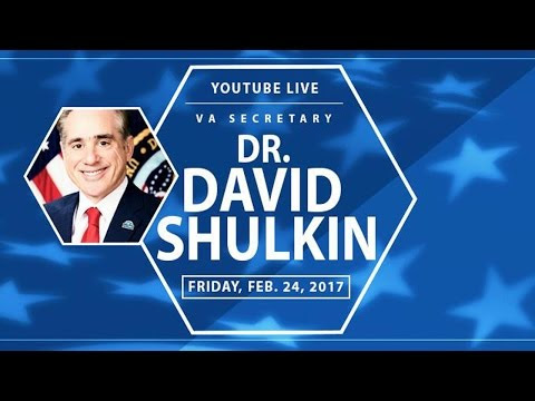 Bill Rausch hosts Q&A YouTube Live Town Hall with VA Secretary Shulkin