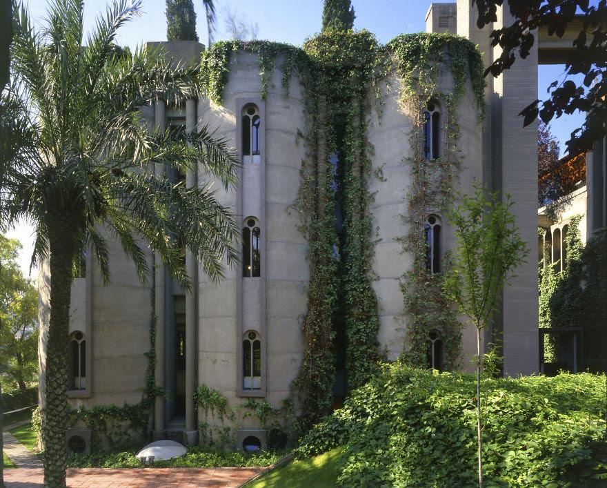 Ricardo Bofill casa personal cemento 13