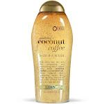 OGX Scrub & Wash, Coconut Coffee, Smoothing - 577 ml