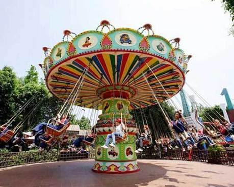 Carnival Swing Ride for sale – Beston Flying Chair Thrill Rides