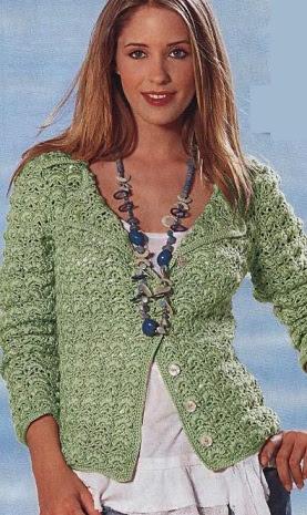 Jacket crochet scheme
