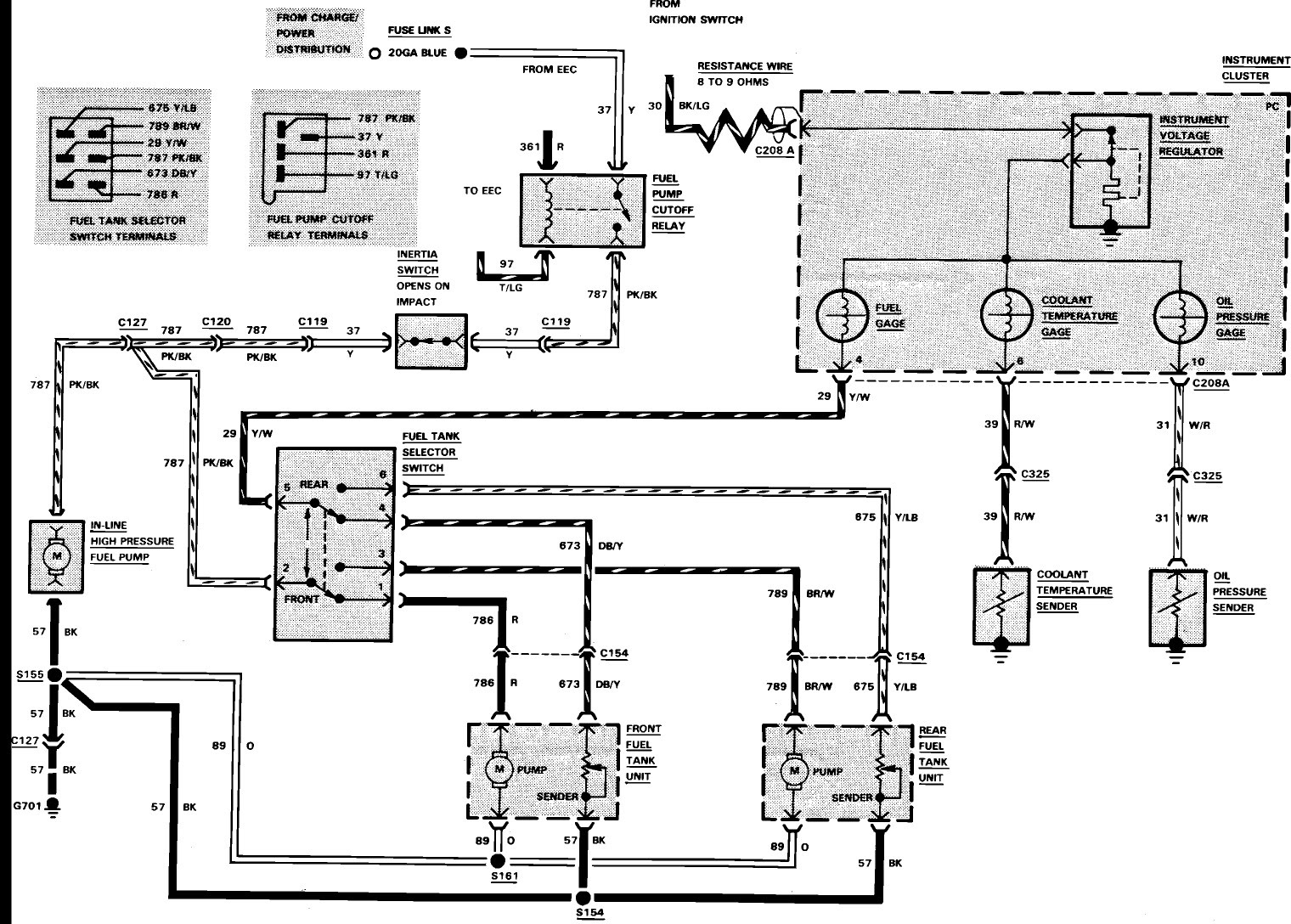1986 Ford F350 Wiring Diagram