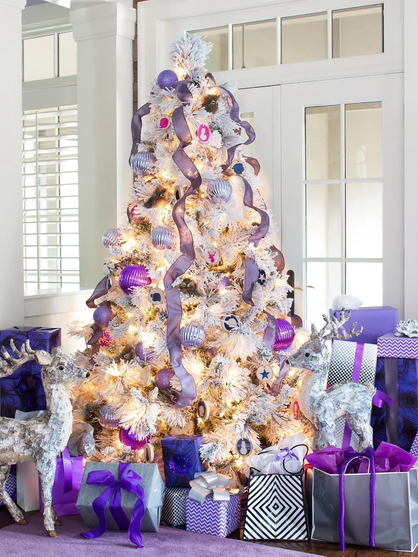 HGTV Modern Holiday Color Palette Lavender Grey Violet 9