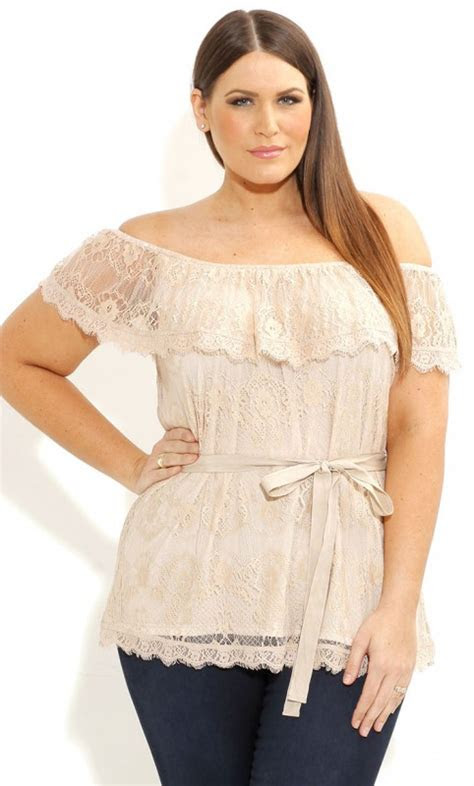 size  shoulder tops   outfits curvyoutfitscom