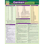 German Grammar: Quickstudy Laminated Reference Guide (US, Poster)