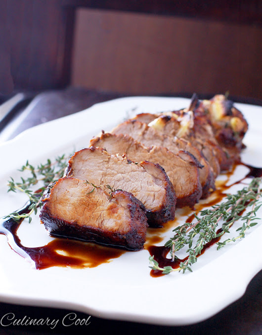 Balsamic Glazed Tenderloin
