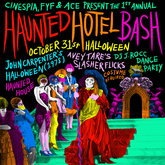 Cinespia's Halloween Haunted Hotel Bash at the Ace in DTLA