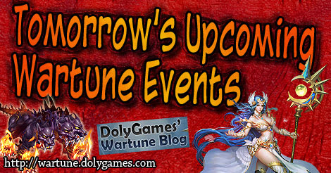 Wartune Events 18 SEP 2018 (Euda Upgrade Refine Cycle) - DolyGames Wartune