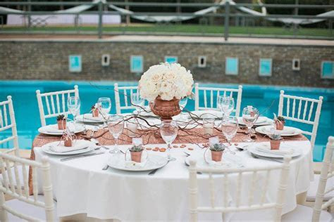 Rose gold wedding inspiration   Chic & Stylish Weddings