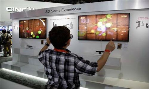 CES 2012: Motion sensing cameras to control PC