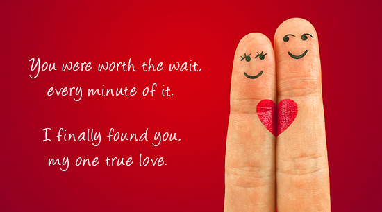 True Love Worth The Wait Free I Love You Ecards Greeting Cards