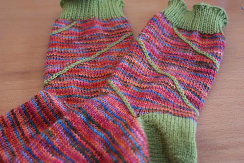 Anne's 40th Socks