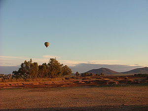 Morocco is a marvellous country. A hot air bal...