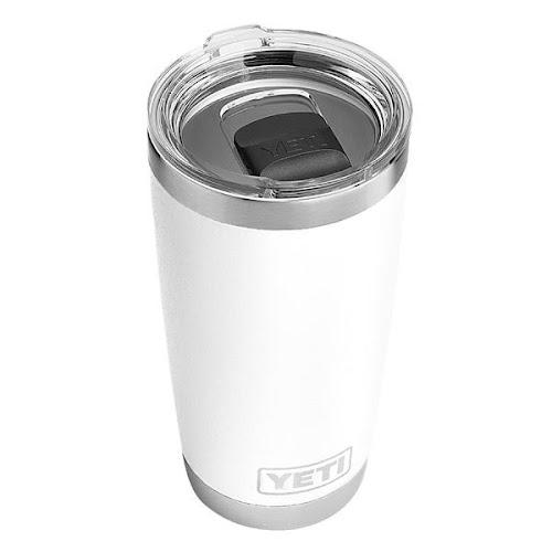 Yeti Rambler Tumbler with Magslider Lid, White - 20 oz