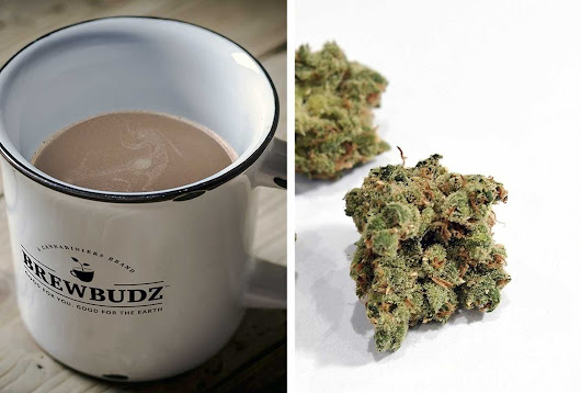 New coffee pods promise a two-way buzz: From marijuana and caffeine