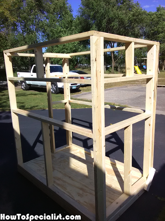 DIY 4x6 Shooting Stand | HowToSpecialist - How to Build, Step by Step DIY Plans