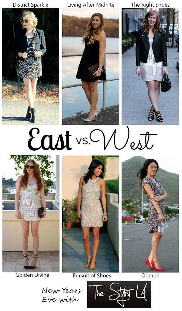 Living After Midnite: East vs. West Style: New Year's Eve