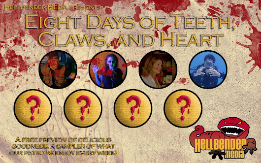 "Welcome to Day 4 of ""Eight Days of Teeth, Claws, and Heart"" 