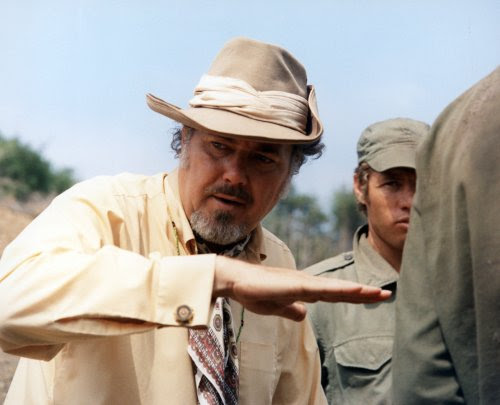 Robert Altman filming MASH (1970)