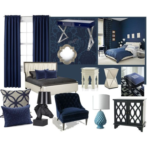 """Navi Blue Room"" by limmini on Polyvore"