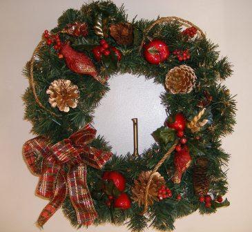 The Wreath on the Front Door