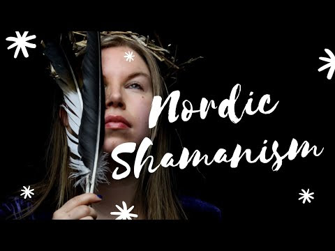 Shaman Drums and Nordic Shamanism (video)