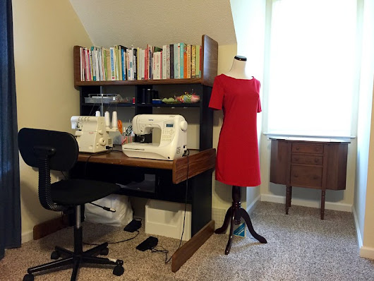 Sew Spoiled Sewing Space