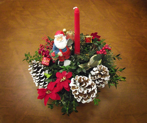 Christmas Centerpiece at WR