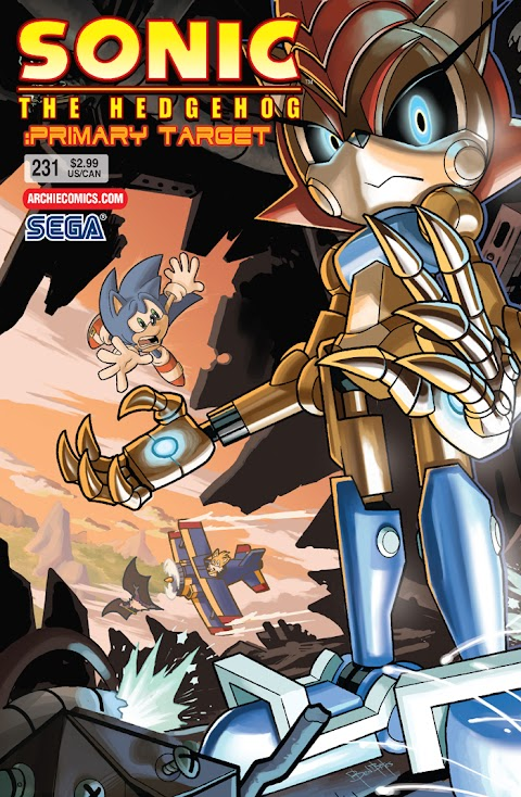 Sonic The Hedgehog Comic 231