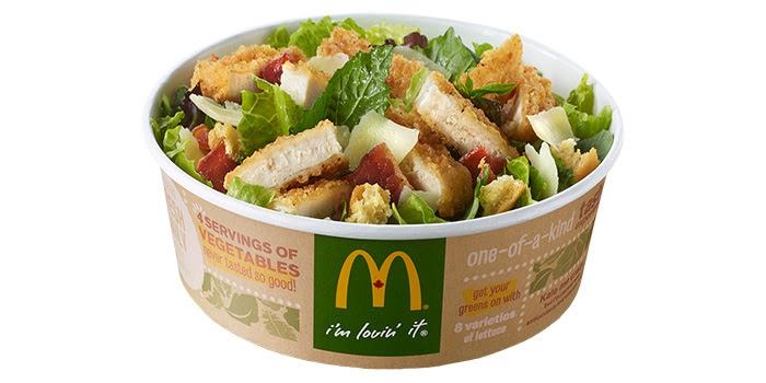 Keep Calm Caesar On Salad