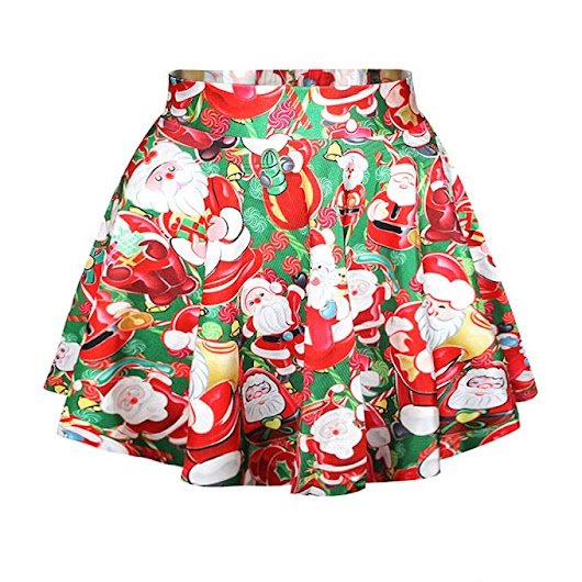 Ugly Christmas Sweater Style Skirts